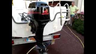 BENETEAU Antares 450 + MERCURY 40cv _ moteur_2