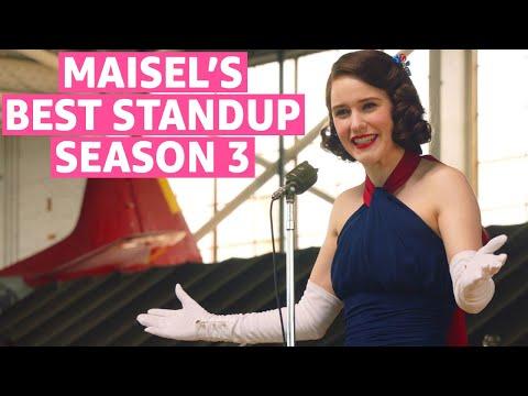 The Marvelous Mrs Maisel Season 3   Best Standup Scenes   Prime Video