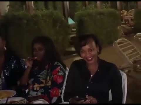 Eddy Kenzo enjoys dinner with with Maya's mum, Tracy Nabatanzi