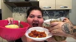 EATING SHOW MUKBANG ITA MEGA ABBUFFATA DELLA DOMENICA!!!! MANGIO DI TUTTO!!!!