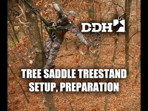 Tree Saddle Deer Hunting: Prep And Setup  | John Eberhart @deerhuntingmag