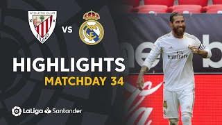 Highlights Athletic Club vs Real Madrid (0-1)