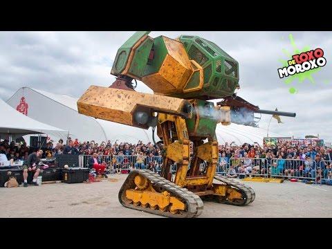 7 ROBOTS que CONQUISTARÁN el Mundo   DeToxoMoroxo