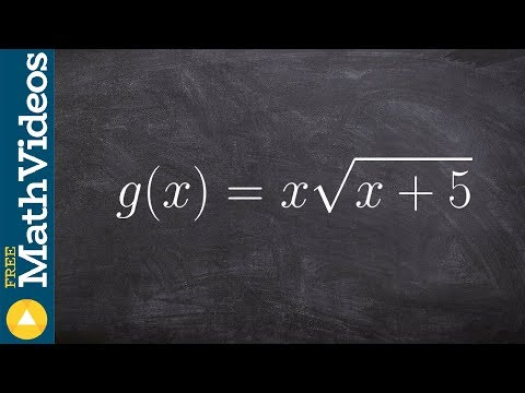 Domain of a radical function in interval notation