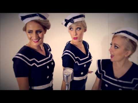 DOLLHOUSE - Boogie Woogie Bugle Boy - 3 Girl Show