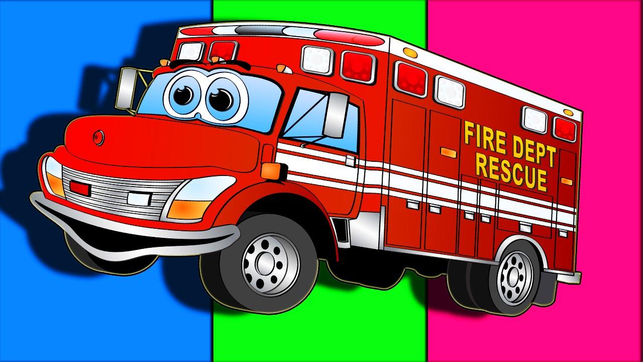 Fire Truck - Monster Trucks for Children - Trucks for Kids ...