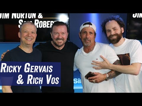 Ricky Gervais & Rich Vos - Stand Up, Doctors Visits, Etc. - Jim Norton & Sam Roberts