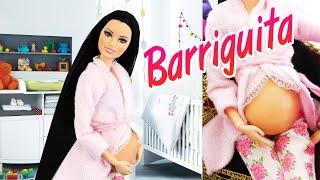 👶 Haz una pancita de embarazo para tus muñecas con Papel Higiénico - manualidadesconninos