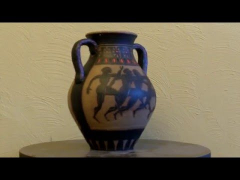 How to make a Greek vase: Tutorial