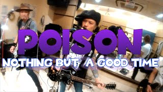 POISON - Nothin' But A Good Time(Punk Rock cover) 【DONT TURN AWAY - studio rehearsal 2020/1/25】