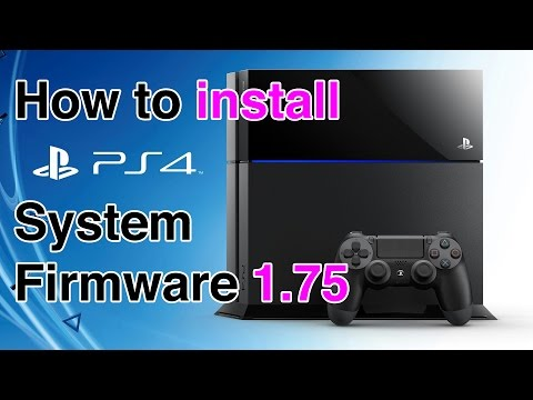 PS4 SYSTEM SOFTWARE 1.75 (3D BLU-RAY SUPPORT)