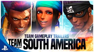 The King of Fighters XIV - Team South America Gameplay Trailer | PS4