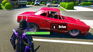 HOW TO DRIVE CARS in Fortnite Season 3 YouTube Videos