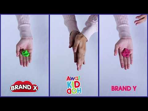 Play With Clay | Awal KIDDOH | Stickiness Test