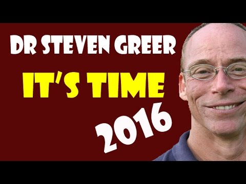 Dr Steven Greer / IT'S TIME / 2016