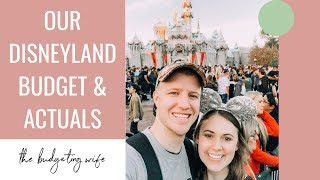 HOW WE SPENT LESS THAN $1,500 ON OUR DISNEYLAND VACATION | OUR DISNEYLAND BUDGET