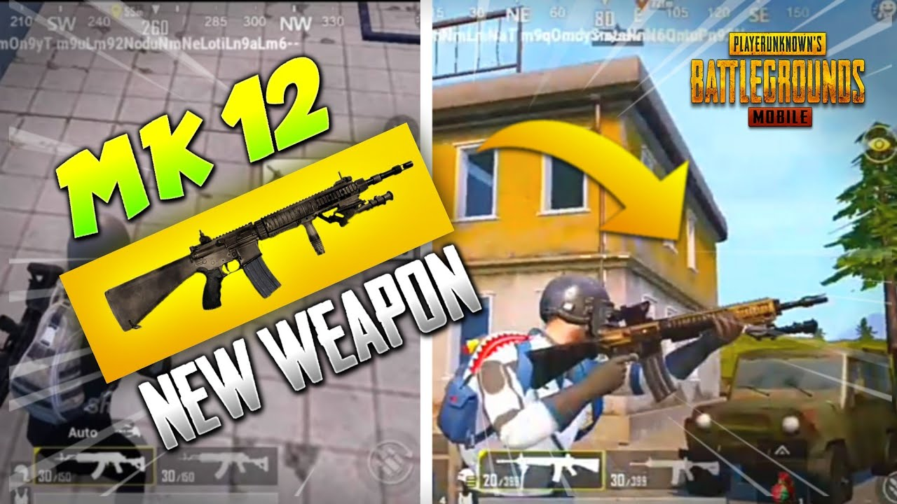 NEW UPCOMING WEAPON IN PUBG MOBILE | MK12 NEW GUN COMING | PUBG ...