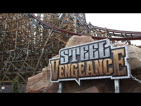 Steel Vengeance, Cedar Point's newest roller coaster, is unveiled during media preview event