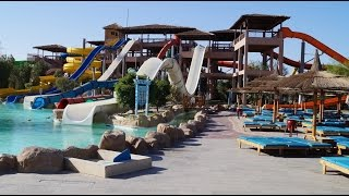 Jungle Aqua Park - Hurghada 2015 - All Slides (alle Rutschen)On-/Offslide Long Version(More Slides)