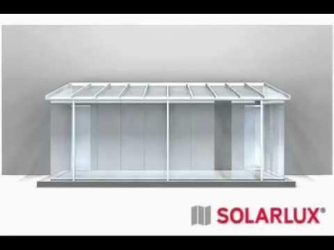 Terrassenberdachung  Glashaus von Solarlux  YouTube