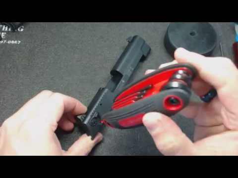 Sig Sauer Mosquito Walkthrough disassembly and reassembly