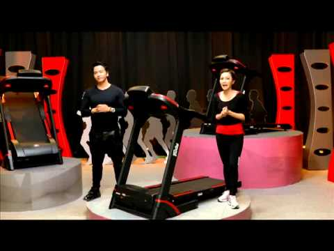 TV Direct ทีวีไดเร็ค - Fairtex Power Run Treadmill ลู่วิ่งไฟฟ้า