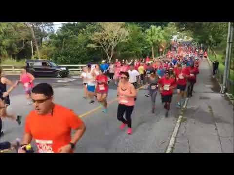 Bermuda Marathon Weekend 10K Race Start, Jan 13 2018
