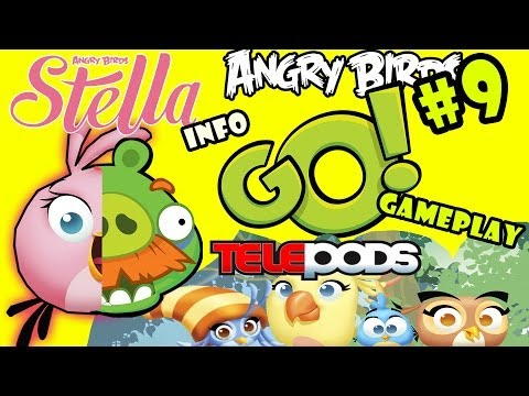 Let's Play Angry Birds Go: Pt. 9 - ForeMan Pig Race + STELLA TELEPODS INFO (Willow, Poppy, Luca)