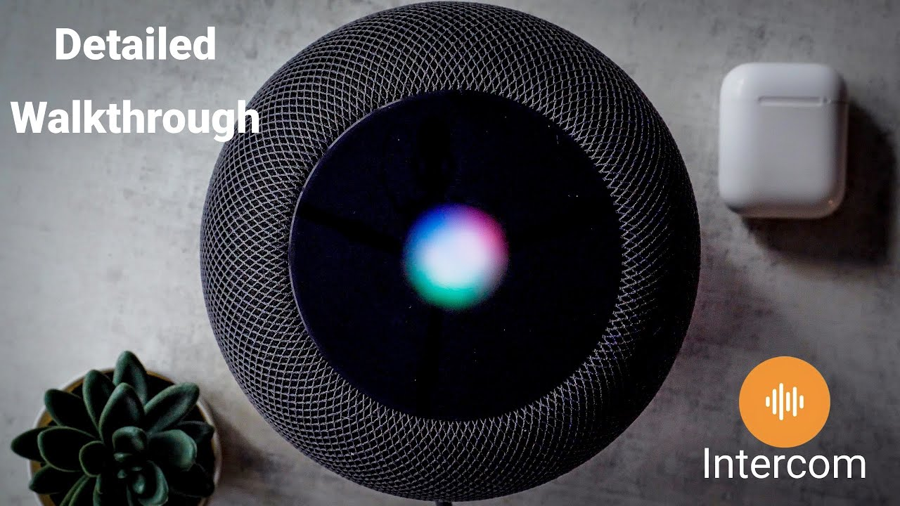 Deep dive look at Apple intercom for HomePod Mini, iPhone & Apple Watch - Setup and how it works