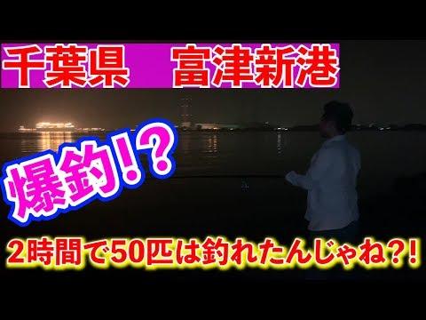 千葉県【富津新港】で爆釣?!トリックサビキが釣れすぎてヤバイ