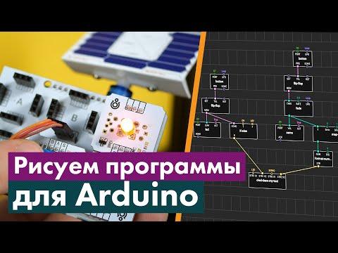 XOD — графический язык программирования Arduino. Обзор языка и среды разработки