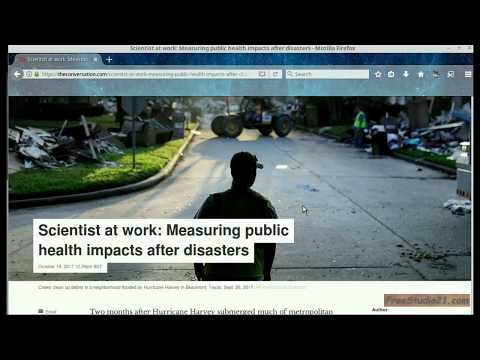Чтение статьи Scientist at Work: Measuring Public Health Impacts -1