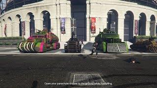 Livestream - GTA 5 - ARENA WAR CAR MEET and Arena War Matches (PS4)