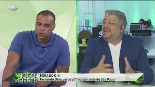 Héverton e Denilson batem boca após Cruzeiro vencer São Paulo