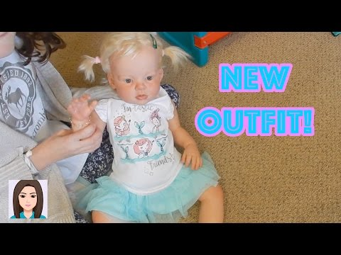 Reborn Toddler Laura's New Outfit From Gymboree
