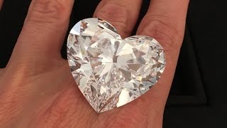 The Graff Venus 118.78 carat heart-shaped diamond