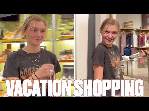 LAST MINUTE VACATION SHOPPING FOR MADI | SWIMSUITS AND TRAVEL SHOPPING FOR OUR TEENAGE DAUGHTER