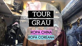 TOUR GRAU - ROPA CHINA, COREANA , ABRIGOS, CHOMPAS, Y MÁS