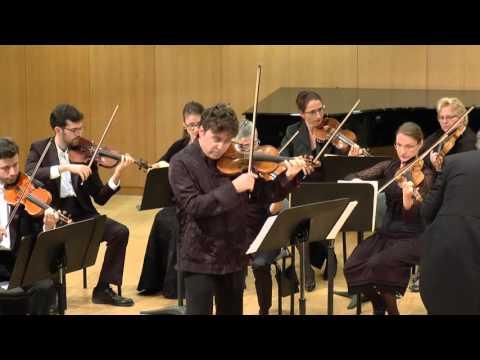 Mendelssohn Violinkonzert d moll Ostrovsky Hurshell Jüdische Kammerphilharmonie Dresden