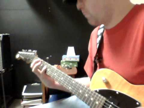 B Power Chord Riff - YouTube