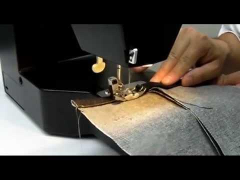 TOYOTA SUPER JEANS_maquina de coser - YouTube
