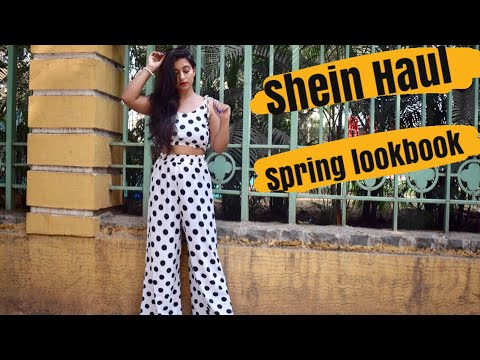 [VIDEO] - SHEIN HAUL | SPRING SUMMER LOOKBOOK 2018 | Sonya Mehmi 6