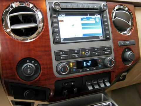 2011 Ford F250 Crew Cab Lariat King Ranch 4x4 With Navigation And Moonroof (Ft. Worth, Texas)