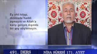 491 TEFSIR GUNLUGU MAHMUT TOPTAŞ NISA SURESİ AYET 163 176