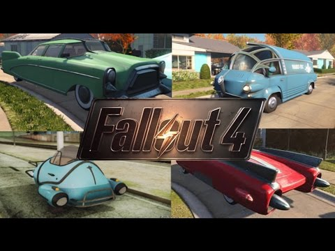 Fallout 4 Xbox One (Mod Showcase) Pocket Vehicles Mod