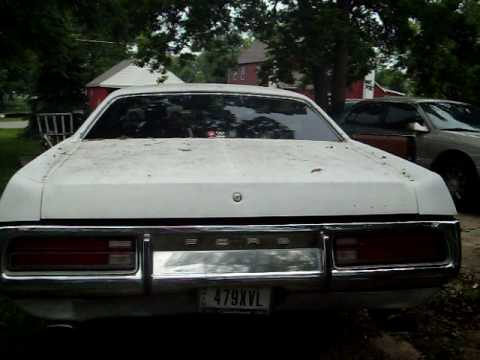 1972 ford galaxie 500 2 door 351w fmx youtube. Black Bedroom Furniture Sets. Home Design Ideas