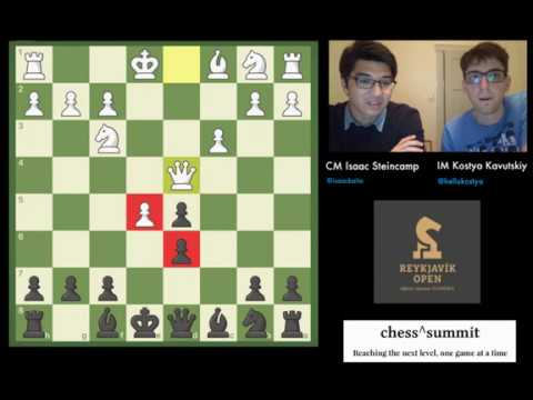 Kostya & Isaac: Reykjavik Open - Round 1