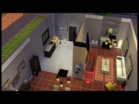 Ideas para decorar tu casa en los sims 4 youtube for Sims 4 piani di casa