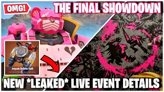 "NEW ""LEAKED EVENT DETAILS"" AND GIANT ROBOT CONSTRUCTION COMPLETED 