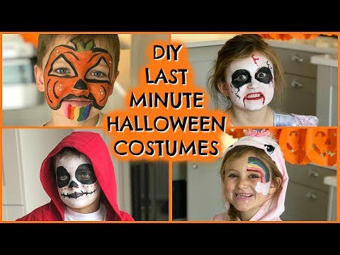 4 DIY LAST MINUTE HALLOWEEN FACE PAINT FOR KIDS  |  EMILY NORRIS AD